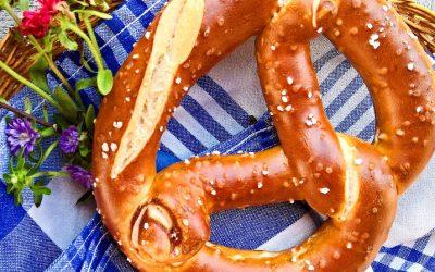 Los populares pretzels