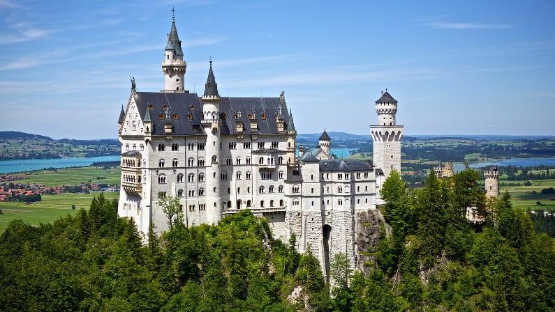 El origen del castillo de Disney