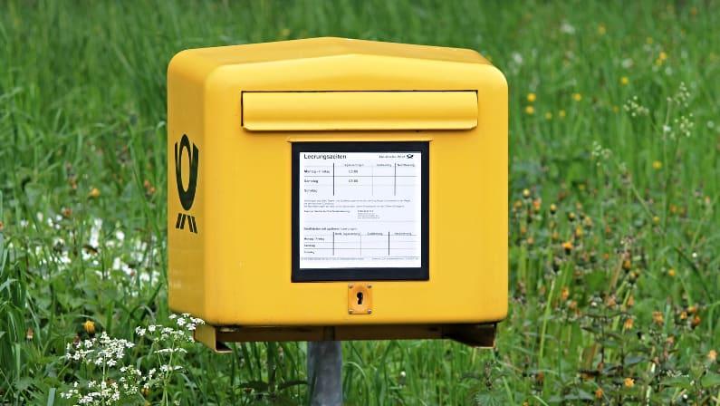 ¿Cómo funciona el sistema de correo postal alemán?