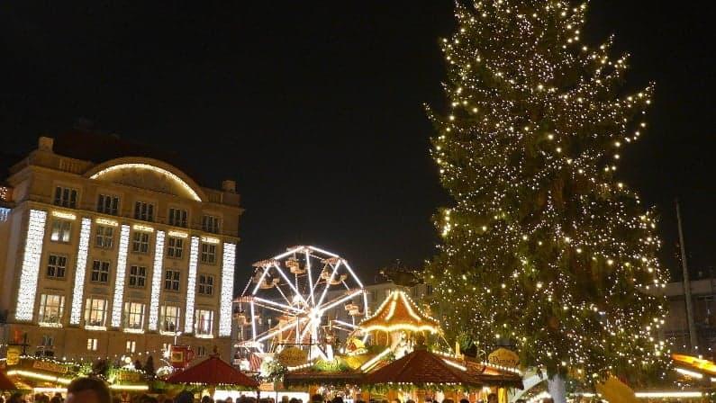 Los populares mercados de navidad